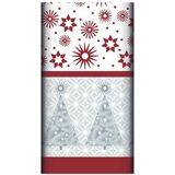 Božični ozki namizni prti < Pogrnjena miza poceni kupit