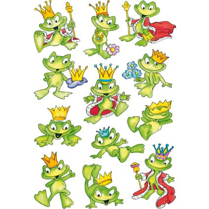 """HERMA Sticker DECOR """"Froschkönig"""""""